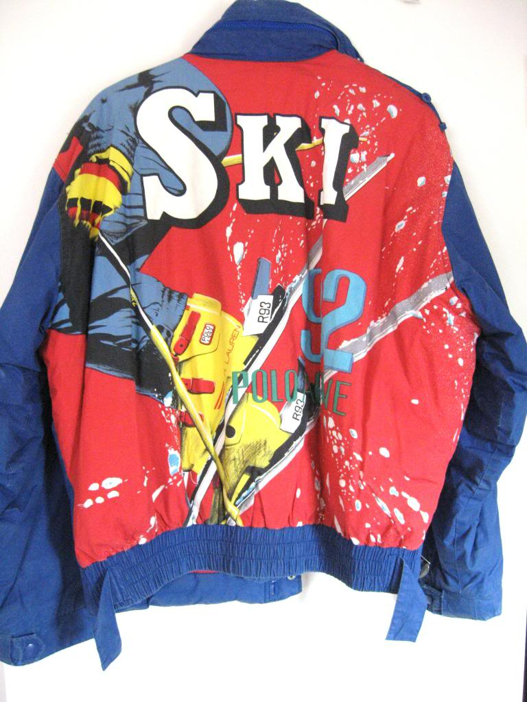 vintage polo 1992 ski jacket proe beats blog