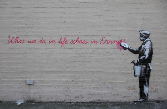 Banksy-Day-14-Gladiator-Wisdom-01